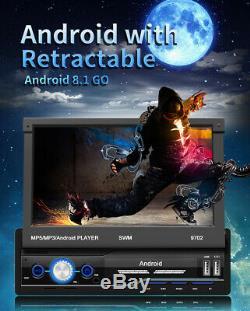 1 Din 7 Android 8.1 Car MP5 Multimedia Player Bluetooth FM Radio GPS Sat Navi