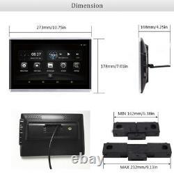 10.1'' HD Car Rear Seat LCD Headrest Monitor WIFI 3G/4G BT OBD Touch Screen