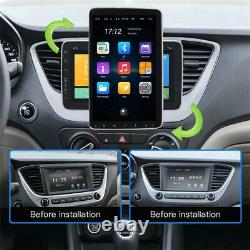 10.1inch Car Stereo Android 9.1 MP5 Player WiFi GPS FM Radio Rotatable Head Unit