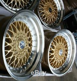 16 Gold RS Alloy Wheels Fit Ford B max Cortina Courier Ecosport Escort 4x108
