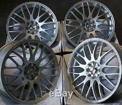 16 Silver Motion Alloy Wheels Fit Ford B Max Escort Ka Puma Sierra Ka 4x108
