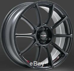 17 Black Spec B Alloy Wheels Ford B max Cortina Courier Ecosport Escort 4x108