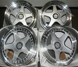 17 S DR-F5 Alloy Wheels For Ford B max Cortina Courier Ecosport Escort 4x108