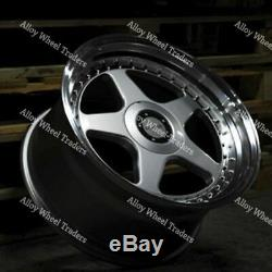 17 SP F5 Alloy Wheels Fit Ford B max Cortina Courier Ecosport Escort 4x108