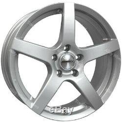 17 Silver Pace Alloy Wheels Ford B max Cortina Courier Ecosport Escort 4x108