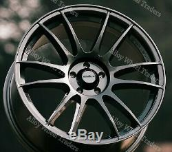 18 Grey Suzuka Alloy Wheels Ford B max Cortina Courier Ecosport Escort 4x108