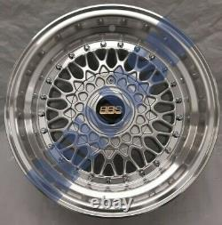 4x New 16 Inch Alloy Wheels Alloys Bbs Rep Ford Cortina Escort Rs2000 Cosworth