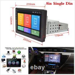 8 Inch Android 8.1 Head Unit Car Stereo GPS Sat Nav WIFI Radio 2 Din Touchscreen