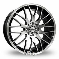 Alloy Wheels 15 Black Pol Motion For Ford B Max Escort Ka Puma Sierra Ka 4x108