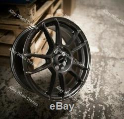 Alloy Wheels 15 X5 For Ford B max Cortina Courier Ecosport Escort 4x108 Grey