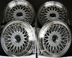 Alloy Wheels X 4 16 Silver Rs Fits Ford B Max Escort Focus Puma Sierra Ka 4x108