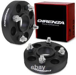 DIRENZA 30mm HUBCENTRIC WHEEL SPACERS FOR FORD ESCORT CORTINA SIERRA COUGAR RS