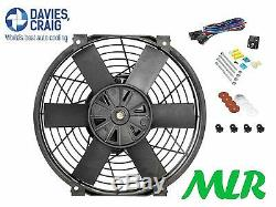 Davies Craig 12 Inch Electric Cooling Fan Kit Escort Mk1 Mk2 Capri Cortina Pj