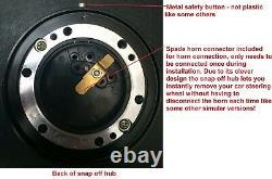 Deep Dish Snap Off Steering Wheel And Boss Kit Fit Mazda Escort Cortina Mk1 Mk2