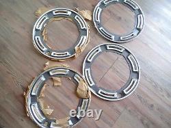 Ford Cortina Capri Escort Wheel Dress Rings Mk1 Mk2 N. O. S Genuine Ford 13