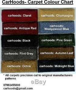 Ford Cortina Popular Anglia Prefect Consul Escort NEW Carpet Set