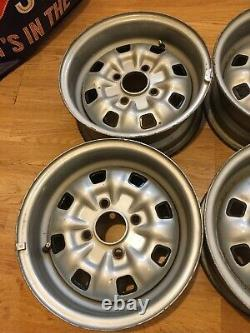Ford Escort/Cortina/Capri 5.5j Deep Dish Steel Wheels