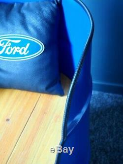 Ford Escort Cortina Capri Oil Drum Seat Chair Furniture Man Cave