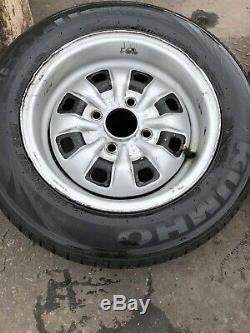 Ford Escort Mexico Mk1 Mk2 Steel Wheels 13 Capri Cortina Barn Find Rare Classic