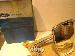 Ford Escort Mk1 Capri Mk1 Cortina Mk3 Door Mirror New Old Stock Original Wingard