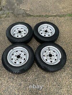 Ford Escort Mk1, Mk2, Capri, Cortina Steel Wheels. 13