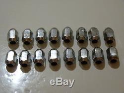 Ford Escort/cortina & Capri Mk1/mk2 Ect, Wheel Nuts Full Set Very Rare See Potos