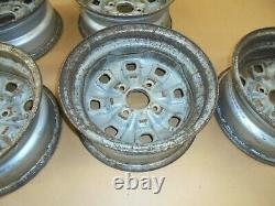Ford Escort mk2 RS Steel Wheels set of 5. Also Suit 1600 Sport. Uk Style