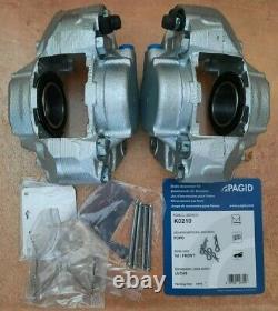 Ford M16 Cortina Capri Escort Mk2 Mk3 Mk4 Mk5 Front Calipers. Pair Inc. Pad Kit
