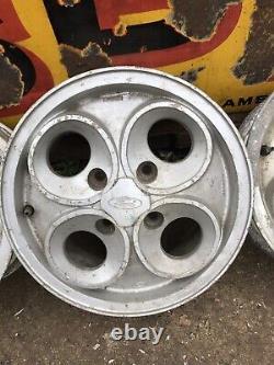 Ford XR3i clover leaf alloy wheels XR escort fiesta capri cortina Granada Orion