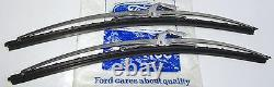 Mk1 Escort Mk1 Cortina Genuine Ford Nos Wiper Blade And Backing Assy's Pair