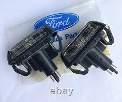 Nos Escort Mk2 Number Plate Lights Ford Rs2000 Cortina Mk4 Mk5 Fiesta Mk1 Light