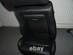 RS Recaro Leather, seats Ford, Escort, Sierra, Capri, Cortina, Anglia