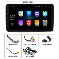 Rotatable 10.1-in Car Stereo Radio GPS Navigation Wifi Android 9.0 1Din 2GB 32GB