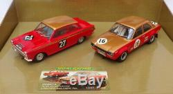 Scalextric 1/32 Scale C2981A Ford Escort & Lotus Cortina Alan Mann Racing