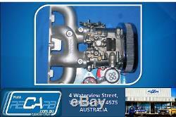 Single 40 DHLA Dellorto Carburettor Set suits, Ford Escort & Cortina 2lt Pinto