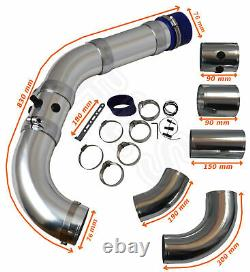 Universal Flow Performance Cold Air Feed Pipe Filter Kit Un2103-frd1