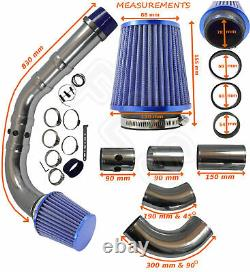 Universal Performance Cold Air Feed Induction Intake Kit 2103007b Frd1