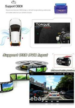 10.1in Voiture Stereo Radio 2din Android 9.1 Gps Navi Wifi Mp5 Player+12led Caméra