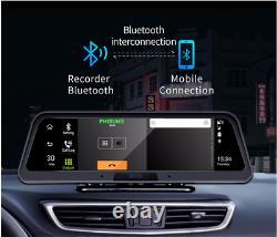 10po 4g Wifi Android 8.1 Dash Cam Car Central Console Dvr Camera Recorder 2g+32g