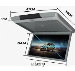 15.6inch Voiture Montée Sur Le Toit Ecran Plafonnier Plafond Ips Affichage À L'écran Mp5