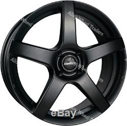 15 Alliage Noir Pace Roues Ford B Max Cortina Courier Ecosport Escort 4x108