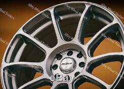15 Argent Neo Jantes En Alliage Ford B Max Cortina Courier Ecosport Escort 4x108