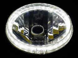 1pr Blanc 7 Halo Angel Phares Pour Les Yeux Ford Cortina Mk1 Mk2 Lumières D'escorte