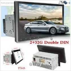 2 Din 9 Android 9.1 1080p Ram 2 Go Rom 32go Car Stereo Radio Gps Wifi 3g 4g Dab