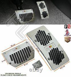 2pcs Universal Ralli Automatique Car Foot Pedal Pad Cover Non Slipford 1