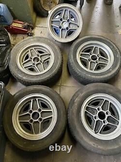 5 Ford Escort Rs Alloy Wheels Cortina / Capri Etc