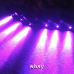 64color Diy 1-en-10 No Threading Ambient Light Atmosphere Themps Optic Fiber Band