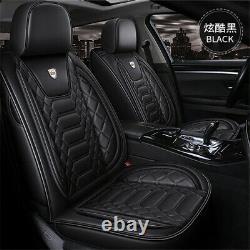 6d Surround Full Set Pu Cuir Siège D'auto Couverture Coussin Auto Accessoires Intérieurs