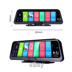 Android 8.1 10 Streaming Voiture Wifi 4g Gps Dvr Double Fhd Video Recorder Dash Cam
