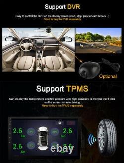 Android 8.1 10 Voiture Radio Stereo Player Gps Obd Bt 1din Rom 32g Ram 2g Dvr